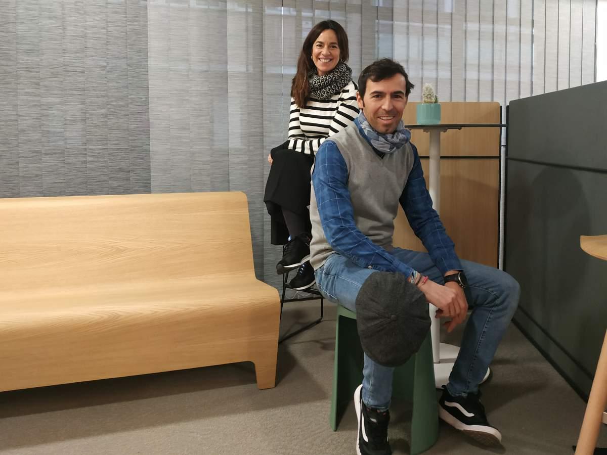 Vicky Gallego y Álvaro Ferré. Estudio Caleydos